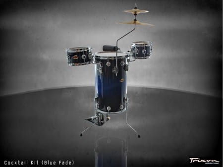 Trixon Cocktail Elite Drum Kit – Blue Fade