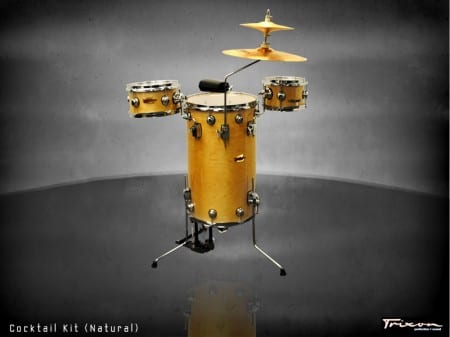 Trixon Cocktail Elite Drum Kit – Natural Birch