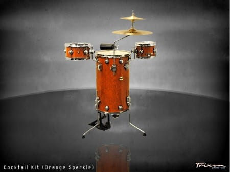 Trixon Cocktail Elite Drum Kit – Orange Sparkle