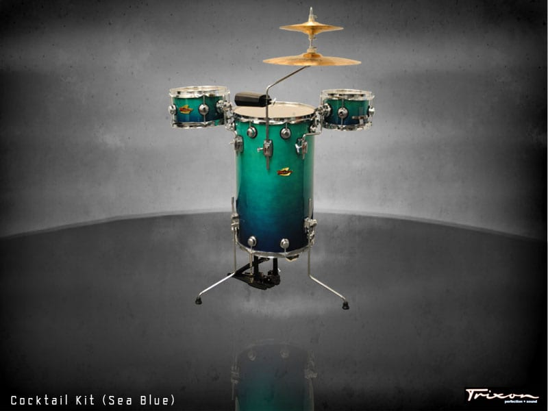 Trixon Cocktail Elite Drum Kit – Sea Blue