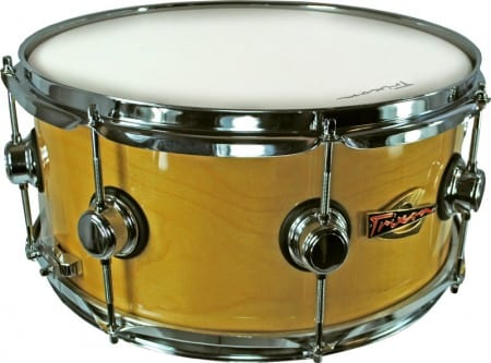 Soloist Elite Wood Shell with Triple Flanged Hoops Snare 14 by 6.5″