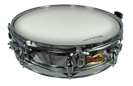 Trixon Solist Elite Chromed Piccolo Snare with Royal Rib Shell