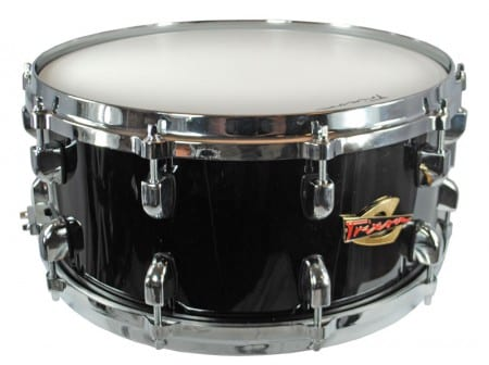 Trixon Solist Elite Wood Shell with Die Cast Hoops 14&#8243;x6.5&#8243; &#8211; Black Color