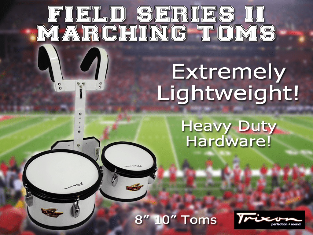 Field Series II Marching Toms – 8″ & 10″
