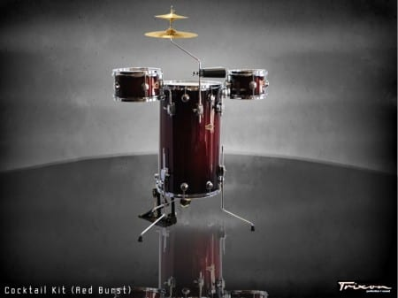 Trixon Cocktail Elite Drum Kit – Red Burst