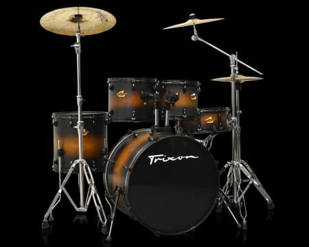 Trixon 5-Piece Birch Kit – Satin Cigar