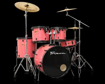 Trixon 5-Piece Birch Kit – Salmon Punk