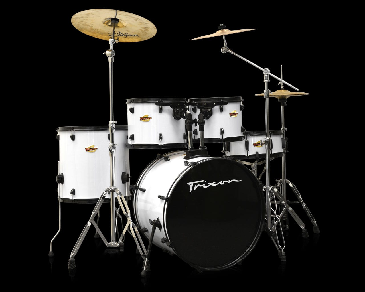 Trixon 5-Piece Birch Kit – Arctic Coal