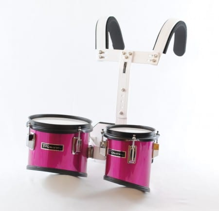 Trixon Junior Marching Tom Set with Carrier – 2 Toms