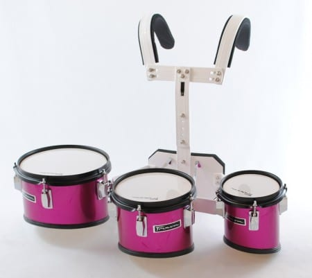 Trixon Junior Marching Tom Set with Carriers – 3 Toms