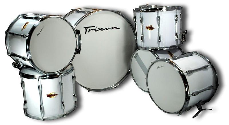 Trixon Field Series II Marching Drums – Queen Set