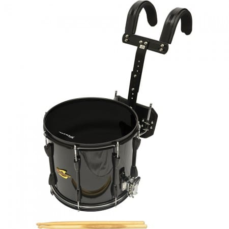 TRIXON FIELD SERIES III MARCHING SNARE DRUM BLACK POLISH