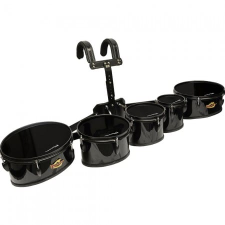 Field Series II Marching Toms Black Set of 5