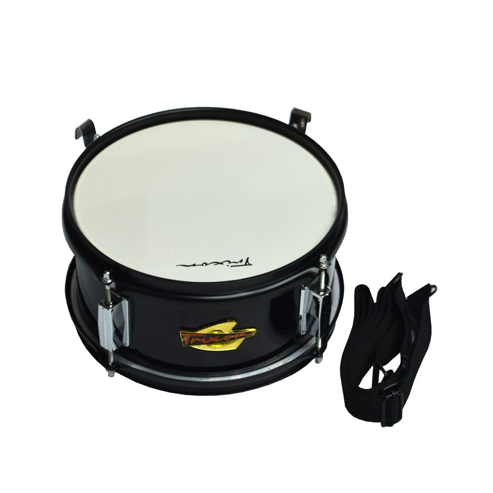 Trixon Junior Marching Snare Drum – White Polish